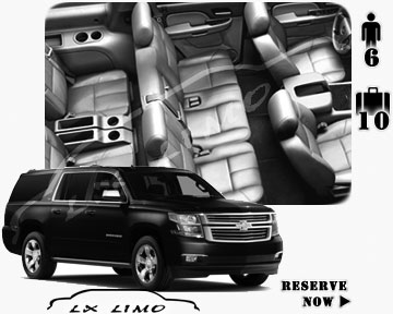 SUV Suburban for hire in Cleveland
