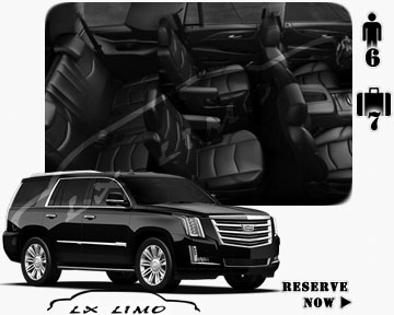 SUV Escalade for hire in Cleveland, OH